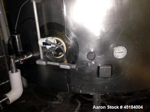 Used- Stainless Steel 6,000 Gallon Tank