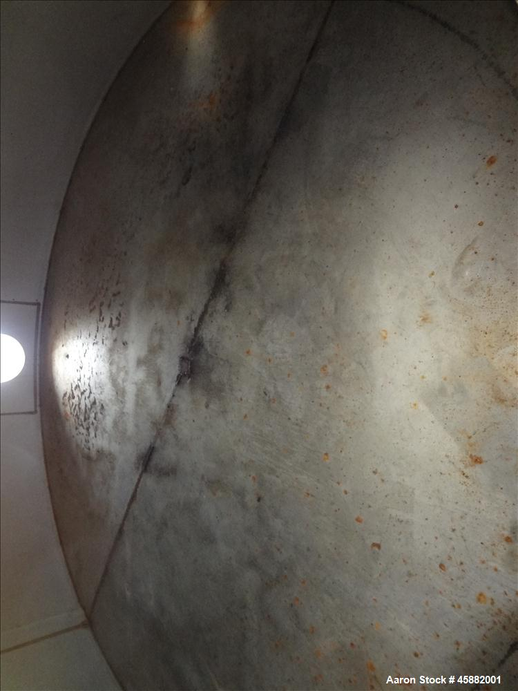 Used- Approximately 6,500 Gallon Tank