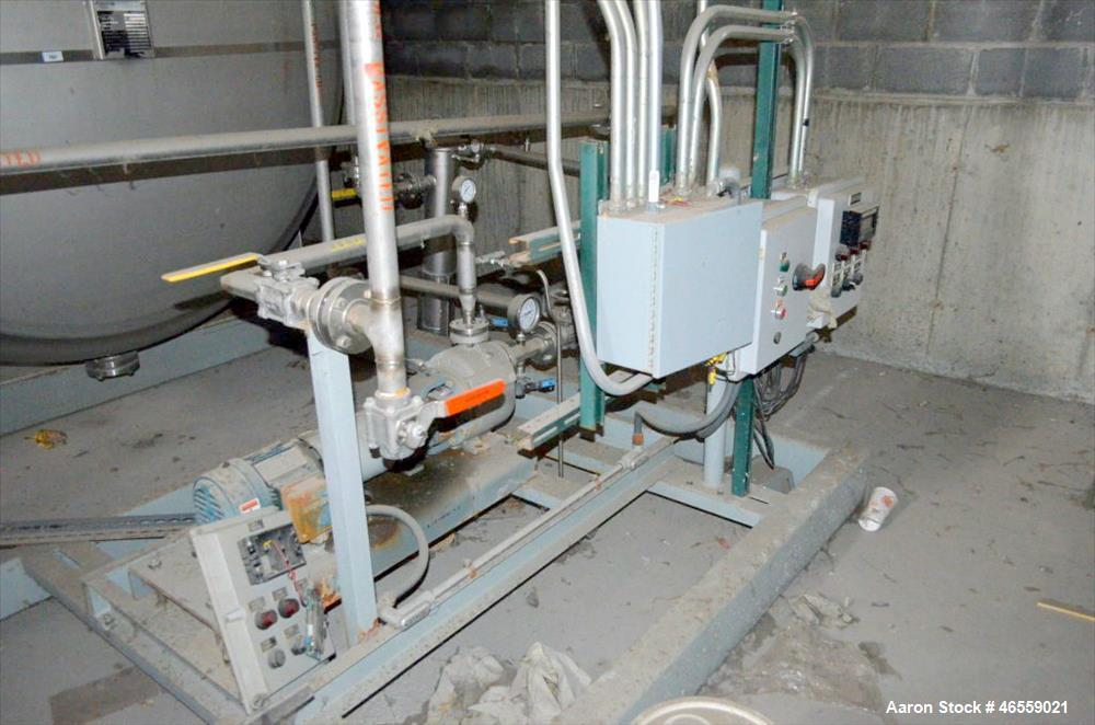 Used- Coastal Industrial Fabricators 9,500 Gallon Storage Tank.