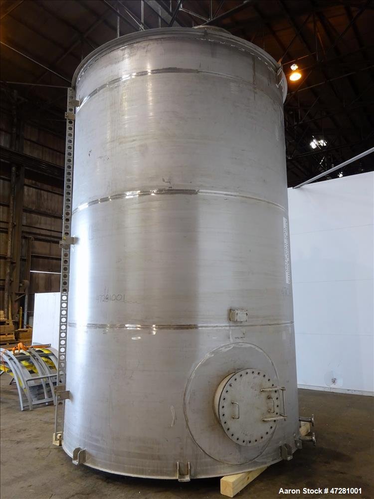 Used- ALPS Welding Limited Tank, 43,000 Liters / 11,360 Gallons, 304L Stainless