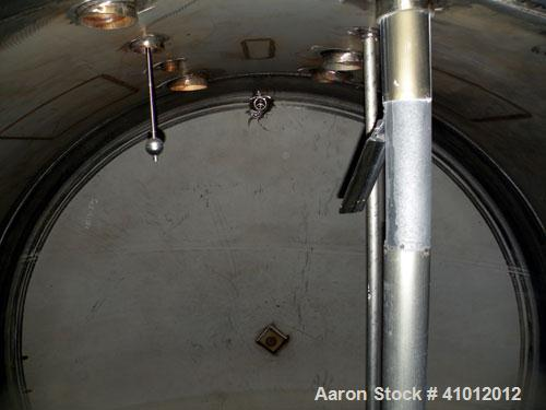 Used- Clawson Tank Company 2 Compartment Pressure Tank, 12,000 gallons total, 6,000 gallons per compartment, 304L stainless ...