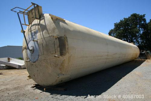 Used- Crepaco St Regis Cold Wall Silo, 50,000 gallon, stainless steel interior, mild steel exterior, 3 blade side mounted ag...