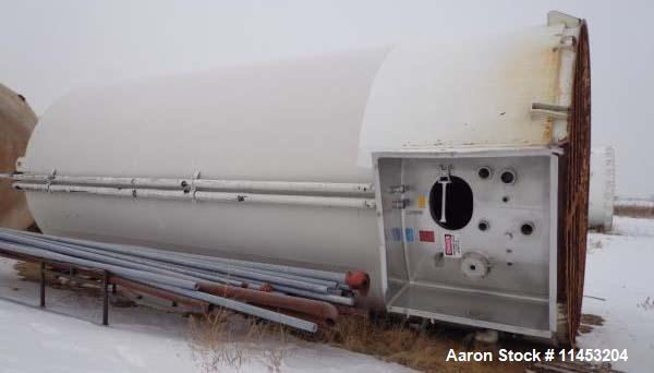 Used-20,000 Gallon Stainless Steel DCI Silo