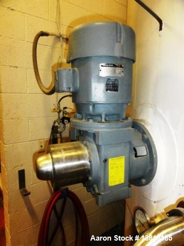 Used- 10,000 Gallon Mixing Tank with Vent on Top Dish. Top and bottom electrically heated (previously used for liquid sugar)...