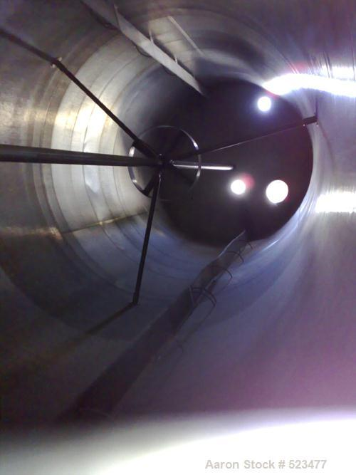 USED: DCI 30,000 gallon, stainless steel, vertical tank. 12' inside diameter x 36' straight side. 304 stainless steel, insul...