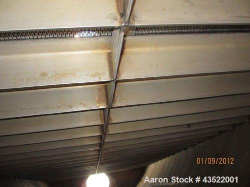 Used- 11,800 Gallon Stainless Steel Dedert Filter Tank