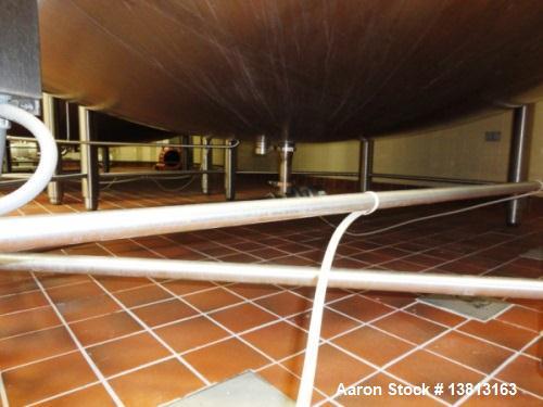 Used- 6,000 Gallon Top Agitated Mixing Tank