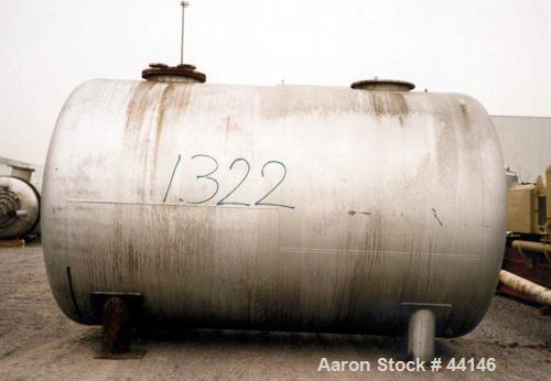 Used- 6,600 Gallon Stainless Steel Giovanola Tank