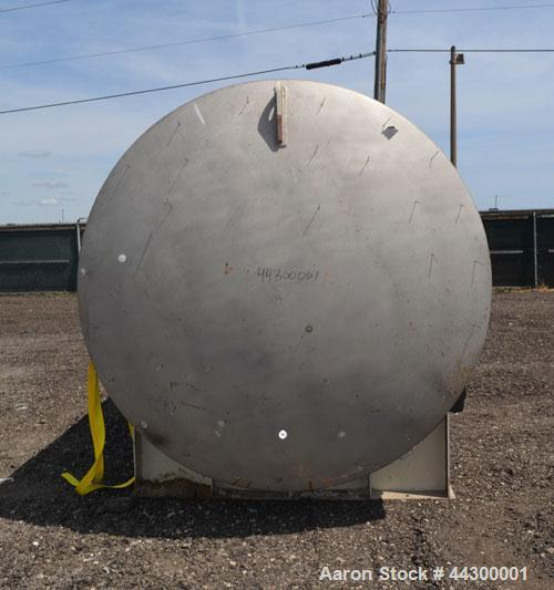 Used- 12,000 Gallon Stainless Steel Hamilton Welding Company Tank