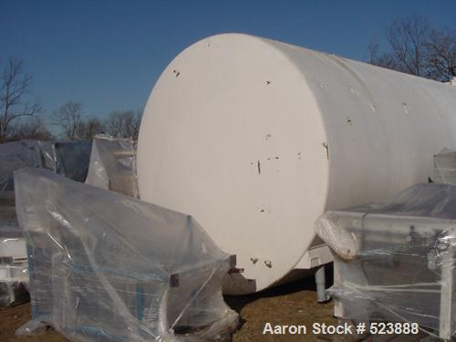 USED: 8,500 gallon Heil insulated horizontal storage tank. 304stainless steel interior, mild steel painted exterior, vertica...