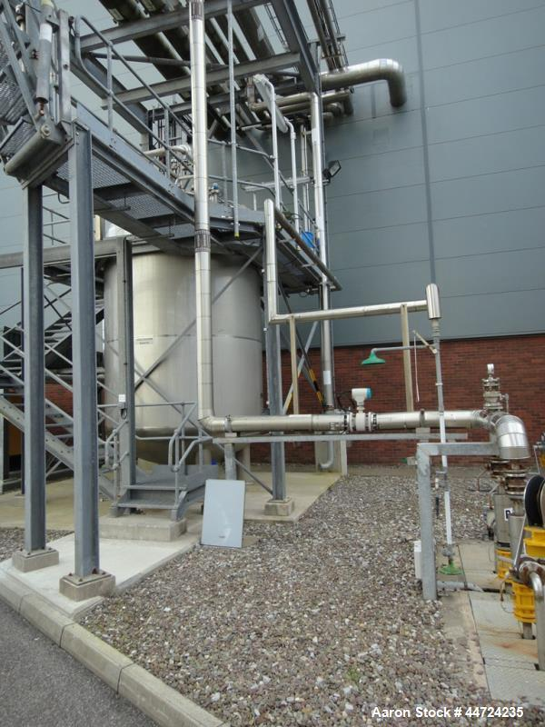 Used-  25,000 Litre Stainless Steel Kells Storage Tank
