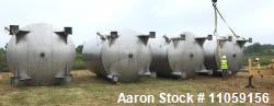 Used- 15,000 Gallon 304 Stainless Steel Agitated Tank.