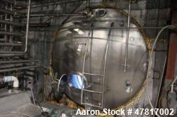 "6,400 Gallon Stainless Steel Insulated, Horizontal Storage Tank, 7'4"" X 20'6"""