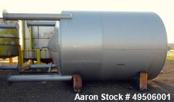 Used- Apparatebau Nordhausen Tank, 5000 Gallon, 316 Stainless Steel,