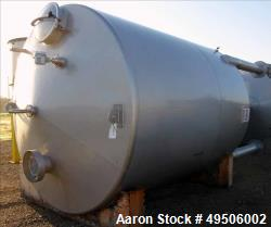 Used- Apparatebau Nordhausen Tank, 5000 Gallon, 316 Stainless Steel.