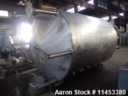"5000 Gallon Cherry Burrell Processor. 304 stainless steel construction. Approximately 102"" diameter..."