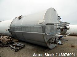 Used- Feldmeier 12,000 Gallon, Vertical Stainless Steel Tank