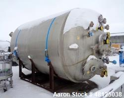 Used- KELLS Tank, Approximate 25,000 Liter (6604 Gallon)