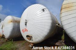 "Mueller Tank, 45,000 Gallon, Model F, 304L Stainless Steel, Horizontal. Approximate 148-1/2"" diamet..."