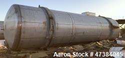 Used- Mueller Tank, 45,000 Gallon, Model H, 316L Stainless Steel, Horizontal