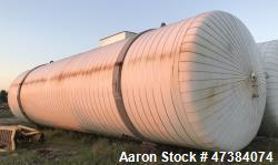 "Mueller Tank, 45,000 Gallon, Model H, 316L Stainless Steel, Horizontal. Approximate 148-1/2"" diamet..."