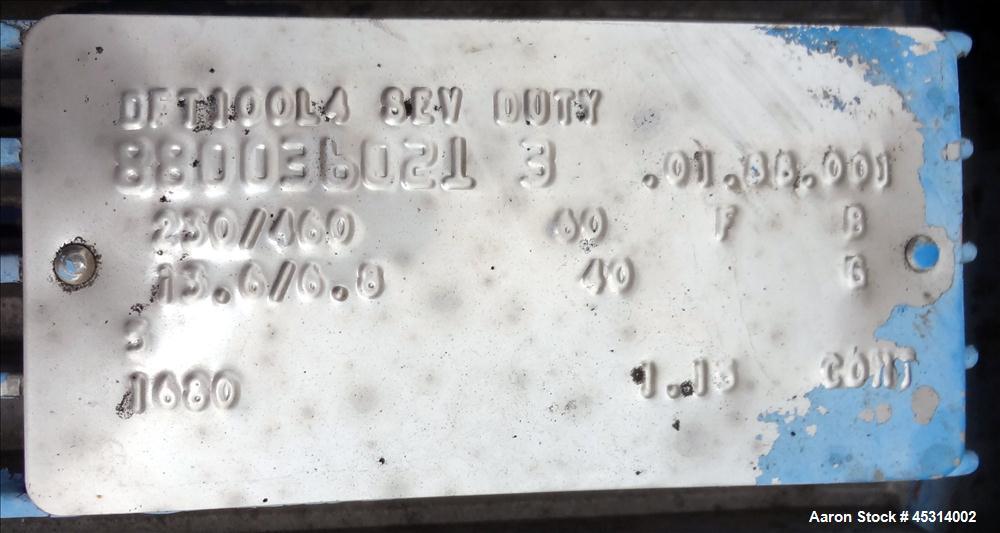 """Unused Mueller Tank, 6000 Gallon, Model """"F"""" Fermenter Blend Tank-Non-Jacketed. 304 Stainless Steel Construction.  136"""" Inner..."""