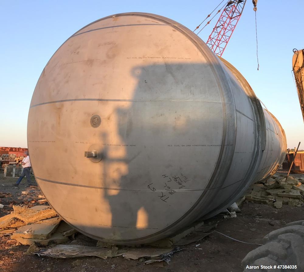 Used- Mueller Tank, 45,000 Gallon, Model H.