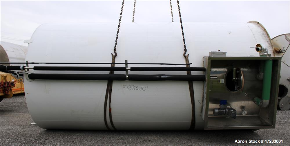 Used- Mueller Silo Storage Tank, Approximate 10,500 Gallon, 316 Stainless Steel.