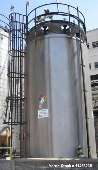 Used- 16,000 Gallon Stainless Steel Mueller
