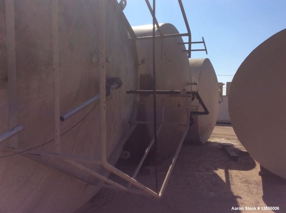 Used- Mueller 50,000 Gallon Jacketed Silo Tank. Stainless Steel, with agitation. 12' diameter x 67' overall length.