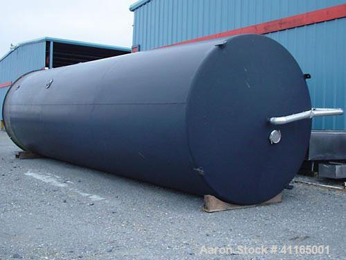 """Used- Mueller Dairy Silo, 20,000 Gallon. 120"""" inner diameter (126"""" OD) x 413"""" straight side (474-1/2"""" overall height). 7-1/2..."""