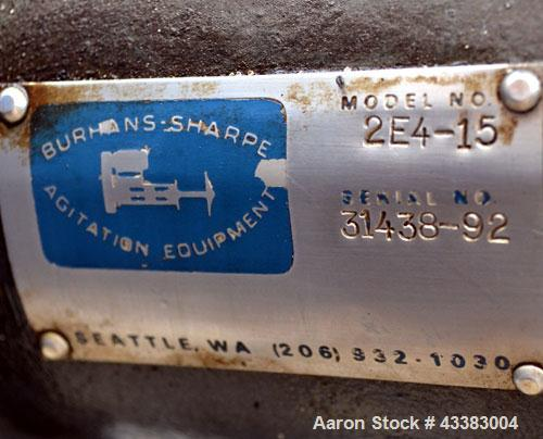 """Used- Mueller Tank, 5,000 Gallon, 304 Stainless Steel. Approximate 108"""" Diameter x approximate 125"""" straight side, dished to..."""