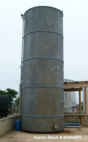 Used- Paul Mueller Approximately 30,000 Gallon Vertical Stainless Steel Storage
