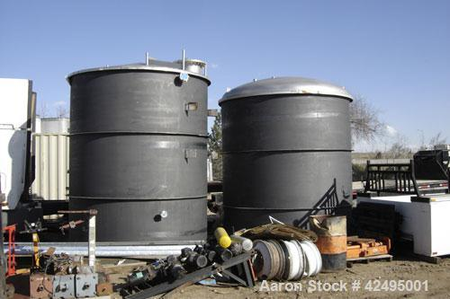 """Unused- Precision Stainless Storage Tank, 6090 gallon, 304L stainless steel, vertical. 114"""" Diameter x 138"""" straight side. C..."""