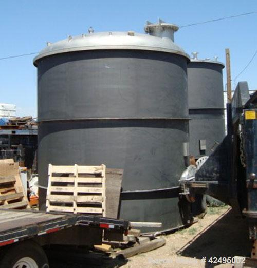 """Unused- Precision Stainless Storage Tank, 6160 gallon, 304L stainless steel, vertical. 120"""" Diameter x 126"""" straight side. D..."""