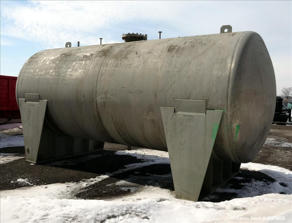 Unused- Process Equipment Co Tank, 10,000  Gallon, Stainless steel.