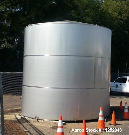 Unused- 12,070 Gallon Stainless Steel Single Wall Storage Tank