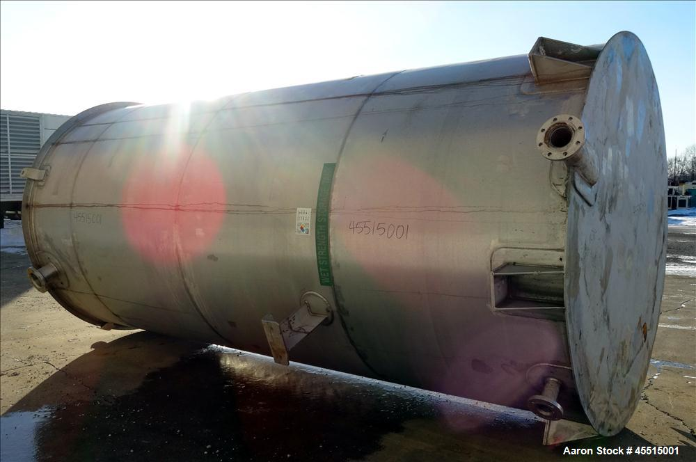 Used- 6,500 Gallon Stainless Steel Roberts Tank