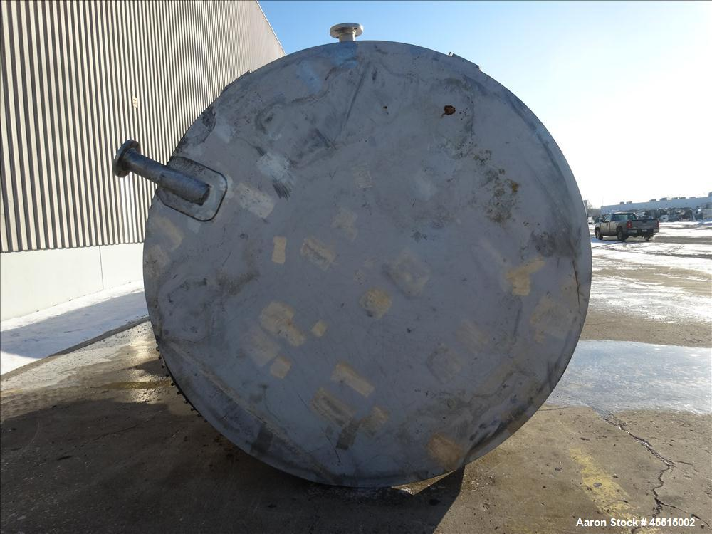 Used- 6,513 Gallon Stainless Steel Roberts Tank