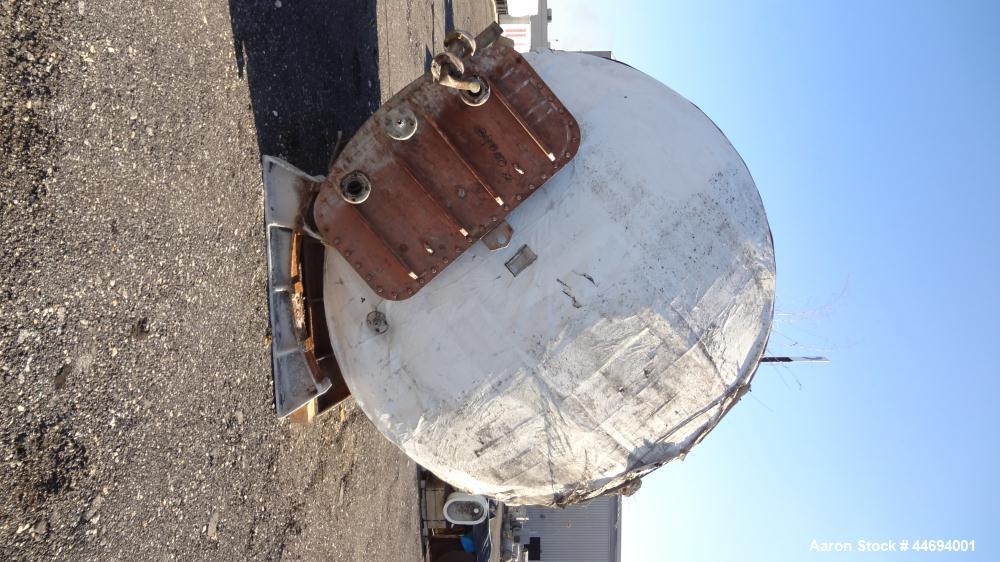 Used- 10,000 Gallon Stainless Steel Rockaway Tank
