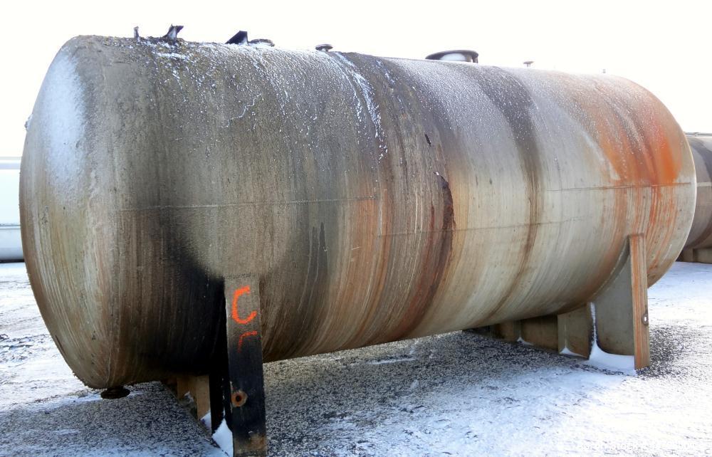 Used- 13,000 Gallon Stainless Steel Superior Welding Pressure Tank, Model 2 HTA-