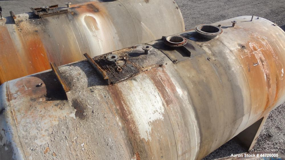 Used- 13,000 Gallon Stainless Steel Superior Welding Pressure Tank, Model A-7-4-3