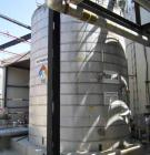 Used- 9,500 Gallon Stainless Steel Storage Tank