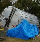 Used - 14,000 Gallon 304 Stainless Steel Tank. Tank was manufactured by Eisenback Equipment Sales in 2012. Tank is 20' strai...