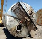 Used- Bendel Corp. Tank, 11,000 Gallon, 304 Stainless Steel, Vertical. Approximately 132