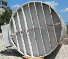 Used- DCI Silo Storage Tank, 44,000 Liter, 11,627 Gallon, 1,553 Cubic Feet, 304 Stainless Steel, Vertical. 120