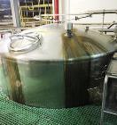Used- Feldmeier 6000 Gallon 316 Stainless Steel Vertical Storage Tank.