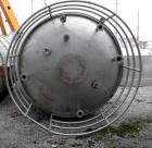 Used- Robert Mitchell Pressure Tank, 10,000 Gallon, 316L Stainless Steel, Vertical. Approximate 120