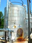 Used- Wolfe Mechanical and Equipment Tank, 7,660 Gallon, 304L Stainless Steel, Vertical. Approximate 120