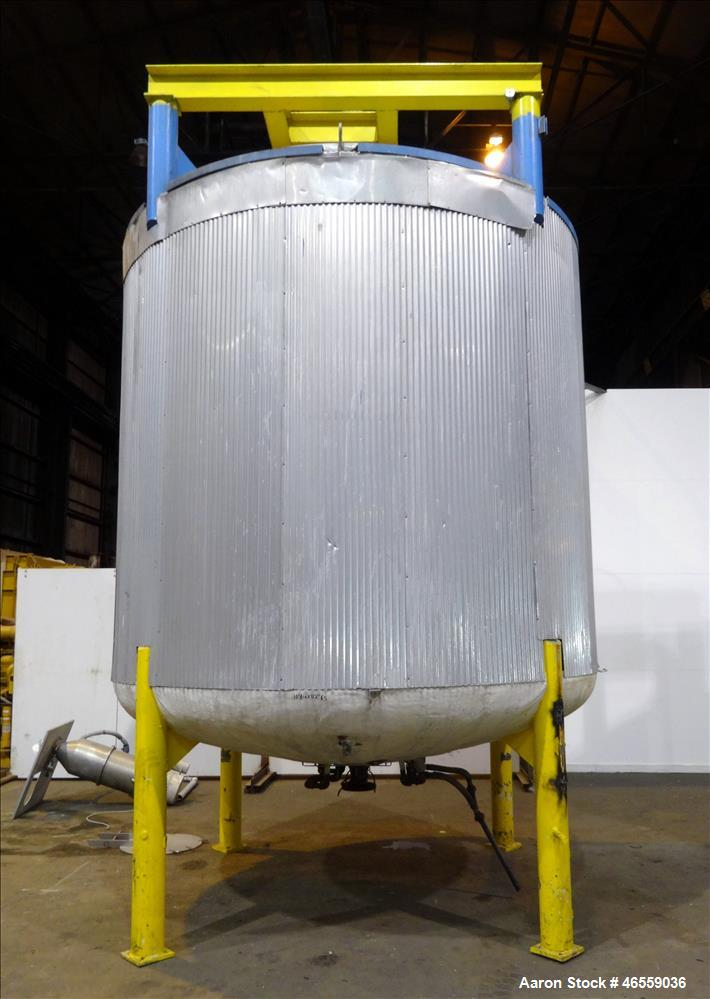 Used- Zero Manufacturing Mixing Tank, Model ZS